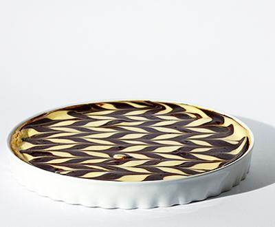 Csokis-banános sajttorta