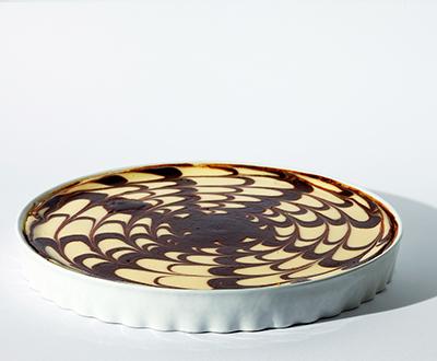 Csokis sajttorta